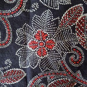 Talbots // floral side zip pencil skirt